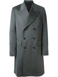 двубортное пальто E. Tautz