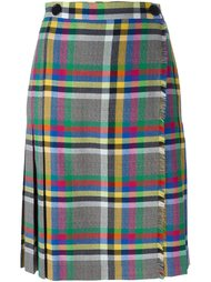 checked skirt Marco De Vincenzo