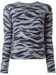 свитер с зебровым принтом  See By Chloé
