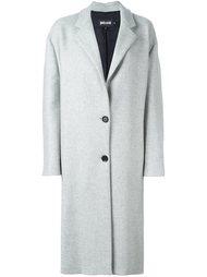 пальто средней длины на пуговицах Just Cavalli