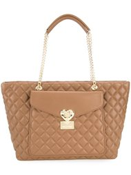 quilted shoulder bag Love Moschino