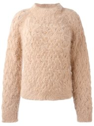 вязаный свитер  Balmain