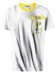 trompe l'oeil logo T-shirt Moschino