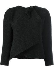 куртка с элементом узла Armani Collezioni