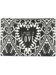 сумка с принтом 'power of love' Givenchy