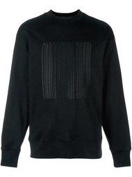 logo barcode sweatshirt Alexander Wang