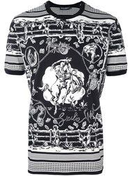 Western print T-shirt Dolce & Gabbana