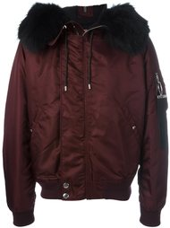 куртка-бомбер с капюшоном Givenchy