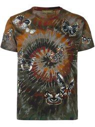 футболка 'Rockstud Tie & Dye'  Valentino
