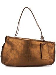 асимметричная сумка-тоут с отделкой металлик Marsèll