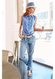 Джинсовая рубашка Aniston