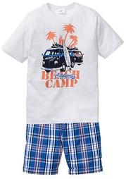 Комплект: футболка + бермуды