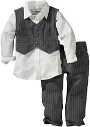 Комплект: сорочка + жилет + брюки