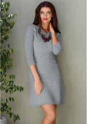 Вязаное платье MY STYLE