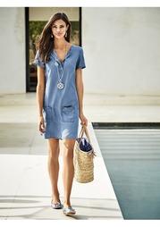 Джинсовое платье Rick Cardona