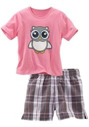 Пижама с шортами PETITE FLEUR