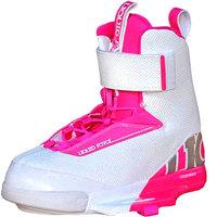 Крепления для вейкборда женские Liquid Force Lfk Boot Womens White/Pink