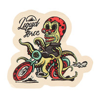 Наклейки Liquid Force Alien Sticker Assorted