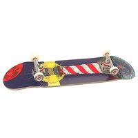 Скейтборд в сборе Nord Mayak Denim/Red/White 31.75 X 8 (20.3 См)