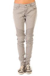 Штаны узкие женские Roxy Rebel J Pant Bleached Grey