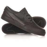 Кеды кроссовки низкие Nike Zoom Stefan Janoski l Black/Black/Anthracite