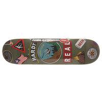 Дека для скейтборда для скейтборда Real Hardy Ramblin Man 32.57 x 8.43 (21.4 см)
