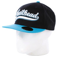 Бейсболка Trailhead Script Snapback Blue/White/Blue