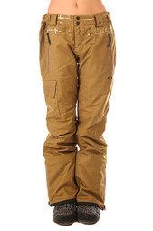 Штаны сноубордические женские Oakley Village Pant Antique Bronze
