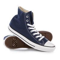 Кеды кроссовки высокие Converse All Star Hi Navy