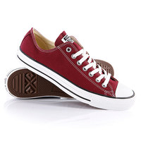 Кеды кроссовки Converse All Star Ox Maroon