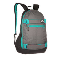 Рюкзак спортивный Nike Embarca Medium Backpack Grey Black Green d968a0aa9bf94