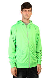 Толстовка классическая Urban Classics Neon Zip Hoody Green