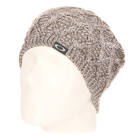 Шапка носок женская Oakley Basket Weave Beret Heather Grey