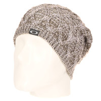 Шапка носок женская Oakley Madison Pom Pom Beanie Stone Grey
