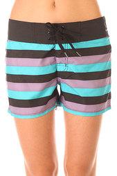 Шорты пляжные женские Oakley The Most Boardie Chrome Purple