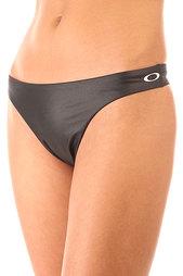 Плавки женские Oakley Chrome-plated Bottom Jet Black
