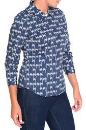 Блуза FIORA BLUE