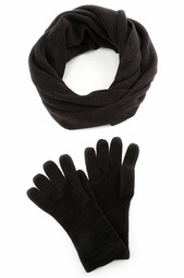 Набор: перчатки, шарф HELENA VERA