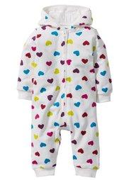 Мода для малышей: трикотажный комбинезон из биохлопка, Размеры  56/62-104/110 (цвет белой шерсти) Bonprix