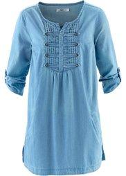 Блузка (серый деним) Bonprix
