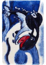 Коврик для ванной София (синий) Bonprix