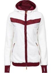 Куртка из нежного флиса (серый) Bonprix