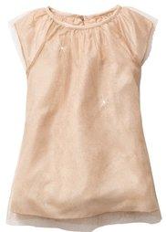 Тюлевое платье с блестками, Размеры 80-134 (серебристый матовый/серебристы) Bonprix