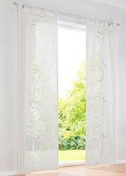 Японская штора Мюнхен (1 шт.), Шина с лентой велкро (цвет белой шерсти) Bonprix