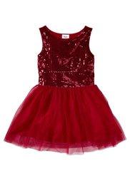 Праздничное платье, Размеры  116-170 (серебристый матовый) Bonprix
