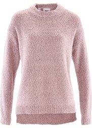 Пуловер из пряжи букле (мятный пастельный меланж) Bonprix