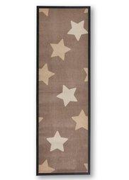 Коврик для двери Звезды (кремовый) Bonprix