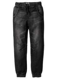 Спортивные брюки непринужденной посадки, Размеры  116-170 (синий «потертый») Bonprix
