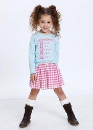 Трикотажная юбка для Октоберфеста (2 шт.), Размеры  80/86-128/134 (нежно-розовый +ярко-розовый в ) Bonprix