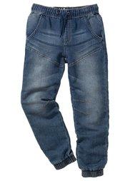 Спортивные брюки непринужденной посадки, Размеры  116-170 (черный «потертый») Bonprix
